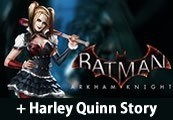 Batman: Arkham Knight + Harley Quinn Story Pack RU VPN Required Clé Steam