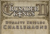 Crusader Kings II: Dynasty Shields Charlemagne Clé Steam
