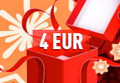 €4 Christmas Gift Code - One per account!