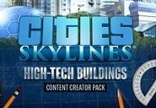 Cities: Skylines - Content Creator Pack: High-Tech Buildings DLC RU VPN Activated Steam CD Key