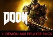 Doom + Demon Multiplayer Pack DLC CHINA Steam CD Key