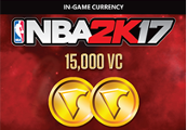 NBA 2K17 - 15,000 Virtual Currency XBOX One CD Key