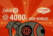 Fallout 76: 4000 (+1000 Bonus) Atoms US PS4 CD Key | Kinguin - FREE