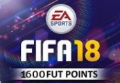 FIFA 18 - 1600 FUT Points XBOX One CD Key