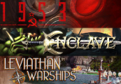 1953 KGB UNLEASHED  + Enclave + Leviathan Warships Steam CD Key