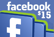 Facebook $15 Game Card