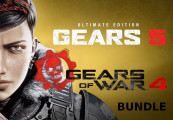 Gears 5 Ultimate Edition + Gears of War 4 Standard Edition Bundle XBOX One / Windows 10 CD Key