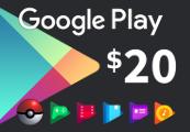 Google Play $20 AU Gift Card