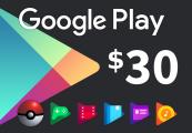 Google Play $30 AU Gift Card