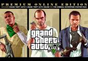 Grand Theft Auto V: Premium Online Edition & Whale Shark Card Bundle US XBOX One CD Key