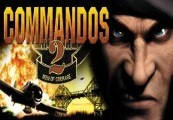 Commandos 2: Men of Courage RoW Steam CD Key