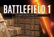Battlefield 1 - 20 x Battlepacks DLC Origin CD Key