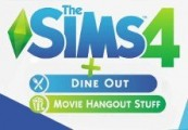 The Sims 4 + Dine Out Game Pack + Movie Hangout Stuff Pack Origin CD Key