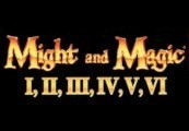 Might and Magic I-VI Collection + Bonus GOG CD Key
