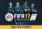 FIFA 17 - 500 FUT Points DE PS4 CD Key