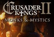 Crusader Kings II - Monks and Mystics DLC Clé Steam