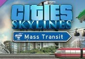 Cities: Skylines - Mass Transit DLC RU VPN Required Steam CD Key