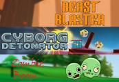Cyborg Detonator + Zombie Boom + Beast Blaster Steam CD Key