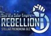 Sins of a Solar Empire: Rebellion - Stellar Phenomena DLC Steam CD Key