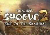 Total War: Shogun 2 - Rise of the Samurai Campaign DLC RU VPN Required Steam CD Key
