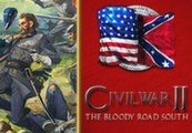 Civil War II + The Bloody Road South DLC Steam Gift