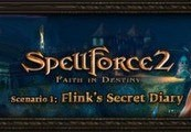 SpellForce 2 Faith in Destiny Scenario 1: Flink's Secret Diary DLC Steam CD Key