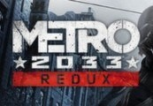 Metro 2033 Redux ROW Steam CD Key