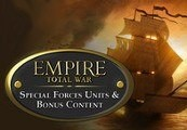 Empire: Total War - Special Forces Units & Bonus Content DLC Steam Gift