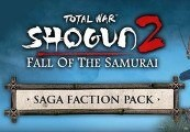 Total War Shogun 2: Fall of the Samurai - The Saga Faction Pack DLC Steam CD Key