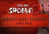 Total War: SHOGUN 2 - Saints and Heroes Unit Pack DLC Steam Gift