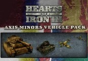 Hearts of Iron III - Axis Minors Vehicle Pack DLC Steam CD Key