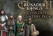 Crusader Kings II - Conclave Content Pack DLC RU VPN Activated Steam CD Key