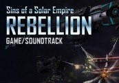 Sins of a Solar Empire: Rebellion Game and Soundtrack Bundle Steam Gift