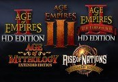 Microsoft RTS Collection: Age of Empires/Age of Mythology/Rise of Nations Steam Gift