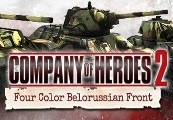 Company of Heroes 2: Soviet Skin - Four Color Belorussian Front Pack Steam CD Key