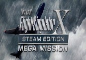 Microsoft Flight Simulator X: Steam Edition  - Mega Mission Edition Steam Gift