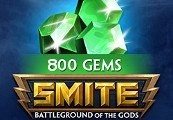 SMITE 800 Gems US CD Key