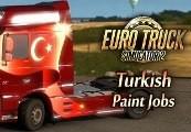 Euro Truck Simulator 2 - Turkish Paint Jobs Pack Steam Gift