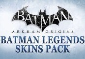 Batman Arkham Origins 4 X Legends Skins Pack Xbox 360 Key