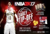 NBA 2K17 - Early Tip Off Access DLC EU Clé Steam