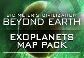 Sid Meier's Civilization: Beyond Earth - Exoplanets Map Pack DLC EU Steam CD Key