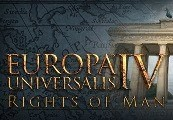 Europa Universalis IV - Rights of Man Content Pack RU VPN Required Steam CD Key