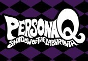 Persona Q: Shadow of the Labyrinth EU Nintendo 3DS CD Key