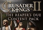 Crusader Kings II - The Reaper's Due Content Pack DLC Steam CD Key