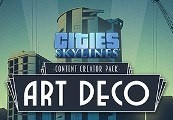 Cities: Skylines - Content Creator Pack: Art Deco DLC Steam CD Key