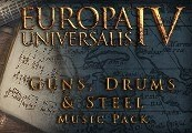 Europa Universalis IV - Guns, Drums and Steel Music Pack DLC Steam Gift