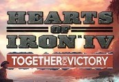 Hearts of Iron IV - Together for Victory DLC RU VPN Required Clé Steam