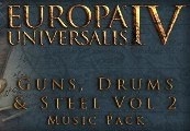 Europa Universalis IV - Guns, Drums and Steel Vol. 2 Music Pack DLC Steam CD Key