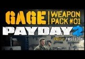 PAYDAY 2 - Gage Weapon Pack 1 Steam CD Key