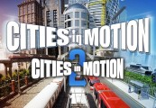 Cities in Motion + Cities in Motion 2 Steam CD Key